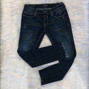Vigoss The Thompson Tomboy Skinny Jeans Size 27